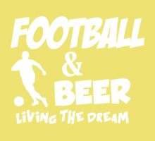 FOOTBALL & BEER Kids Clothes