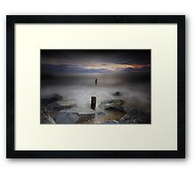 Rising Tide - Youghal Co. Cork Framed Print