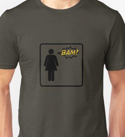 Bam! Said The Lady- Black Unisex T-Shirt