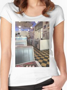 50s. Women's Fitted Scoop T-Shirt