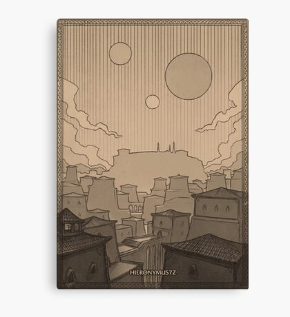 City of Gems Canvas Print