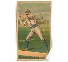 Benjamin K Edwards Collection Morrissey Milwaukee Team baseball card portrait Poster