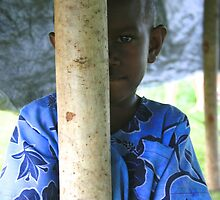 Local boy, Port Vila, Vanutatu by Justine Chesterman