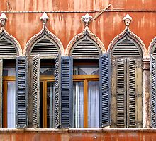 windows of Venice 2 by Susan Segal