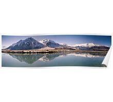 Ahuriri Valley Panoramic Poster
