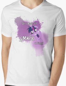 Smack a Filly Mens V-Neck T-Shirt