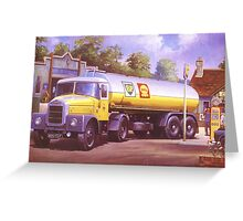 Scammell Highwayman. Greeting Card