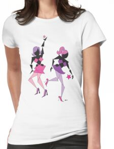 Heart Filled Disco ~(C) 2011 Womens Fitted T-Shirt