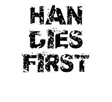 Edgy Han Dies First Photographic Print
