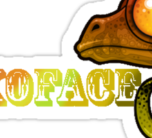 Geckoface Logo Sticker
