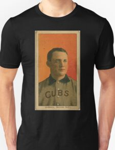 Benjamin K Edwards Collection Orval Overall Chicago Cubs baseball card portrait 001 Unisex T-Shirt