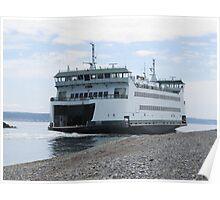 Washington State Ferry Salish  Poster