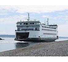Washington State Ferry Salish  Photographic Print