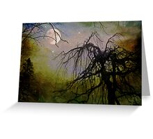By The Light of The Silvery Moon II  Greeting Card