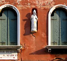windows of Venice 3 by Susan Segal