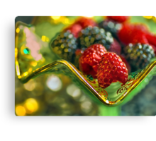 Treat of Berry Canvas Print