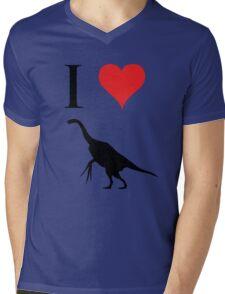 I Love Dinosaurs - Therizinosaurus Mens V-Neck T-Shirt