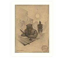 Ridark Art Print