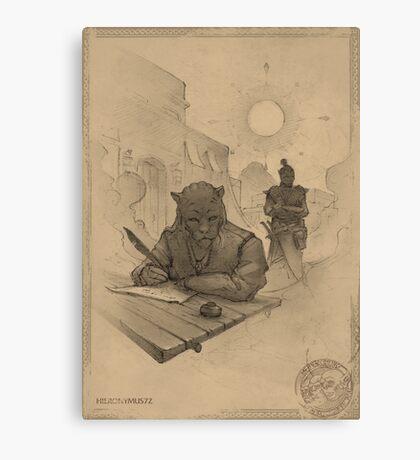 Ridark Canvas Print