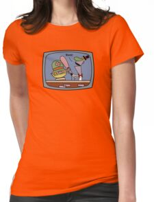 Bonk on the Head Womens Fitted T-Shirt