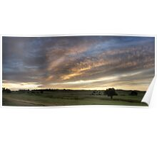 18 Holes - Long Reef sunrise Poster
