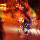 Holiday Lights Parade by Joy Fitzhorn