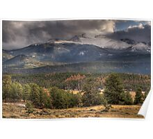 Fall  In Rocky Mountain National Park  Poster