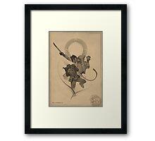 Akrash Framed Print