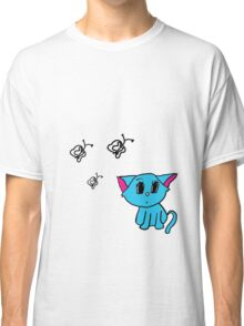 Cute Kitty (Large) Classic T-Shirt