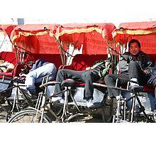 """Taxi"", Beijing Photographic Print"