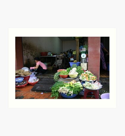 """""""Vietnamese Kitchen"""", Ho Chi Minh City Art Print"""