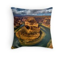 Horseshoe Bend , Arizona Throw Pillow