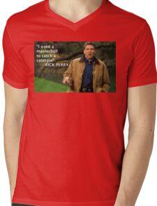 Rick Perry Funny 1 Mens V-Neck T-Shirt