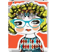 cool girls wear glasses -- stella iPad Case/Skin