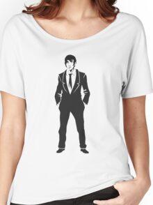 SebastiAn - Total (Original Artwork 3) (Black) Women's Relaxed Fit T-Shirt