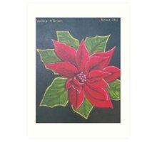 Xmas Flower 2011 Art Print