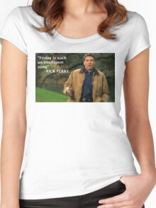 Rick Perry Funny 2 Women's Fitted Scoop T-Shirt