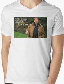 Rick Perry Funny 2 Mens V-Neck T-Shirt