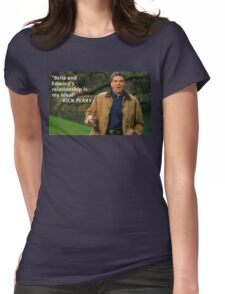 Rick Perry Funny 3 Womens Fitted T-Shirt