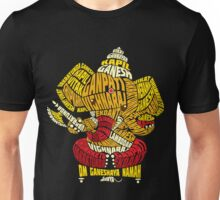 Ganesha Typo Unisex T-Shirt