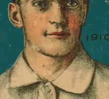 Benjamin K Edwards Collection Jimmy Dygert Philadelphia Athletics baseball card portrait Sticker