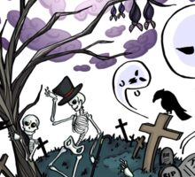 Halloween Head Sticker