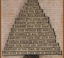 Christmas Tree of Love by Janine Whitling