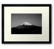 Mt Fuji Framed Print