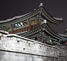 Pungnammun City Gate by Jane McDougall
