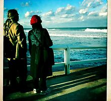 Newcastle Baths Tourists by gilleebee