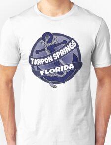 Tarpon Springs Florida anchor swirl T-Shirt