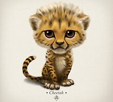 Cataclysm - Cub - Cheetah by Iker Paz Studio
