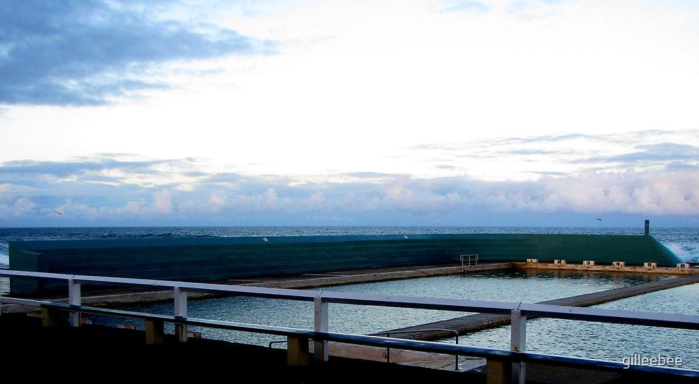 Newcastle Baths Horizon by gilleebee