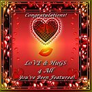Love and Hugs For All You've Been Featured by EnchantedDreams